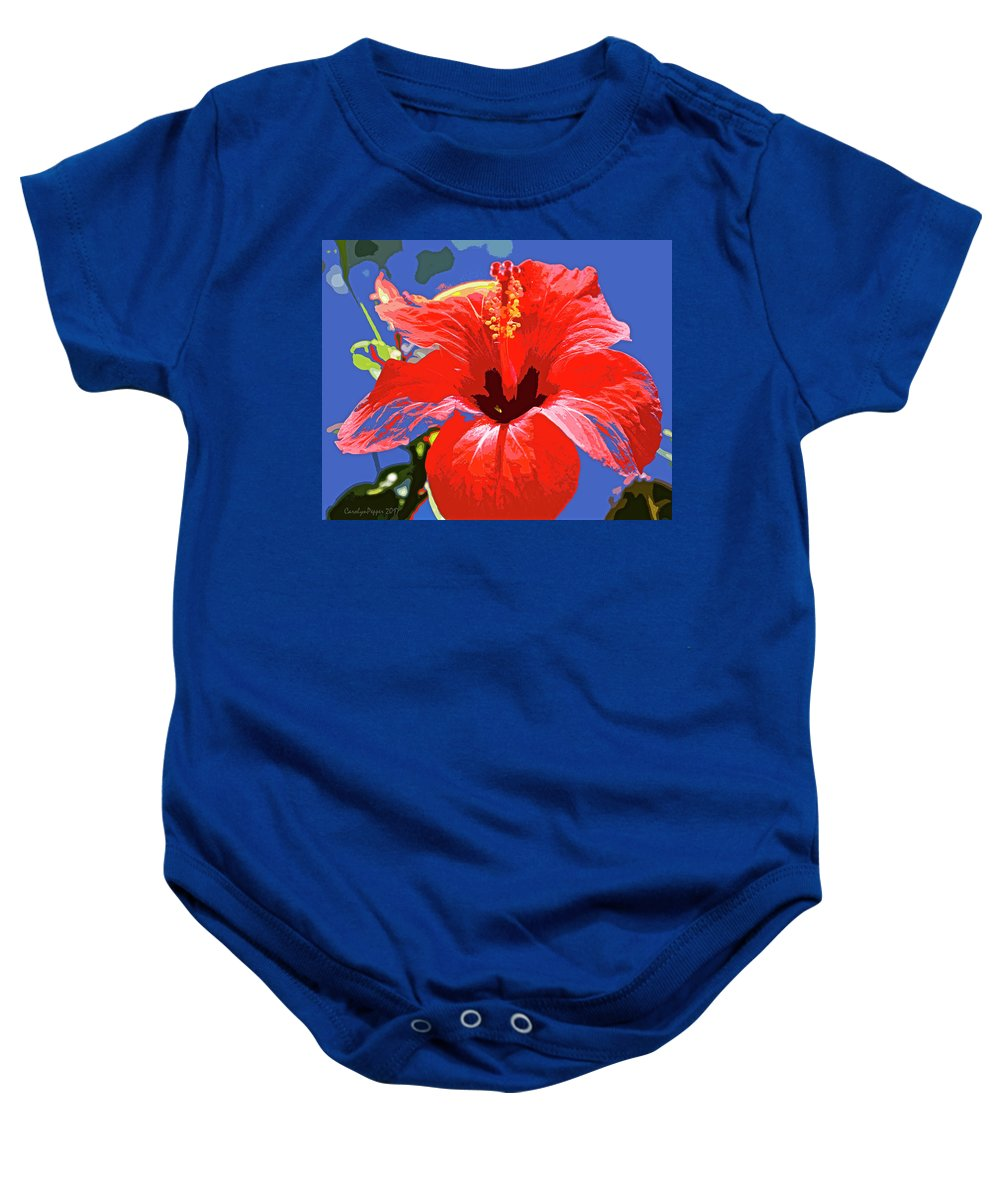 Abstract Baby Onesie featuring the photograph Seize The Opportunity by Carolyn Pepper