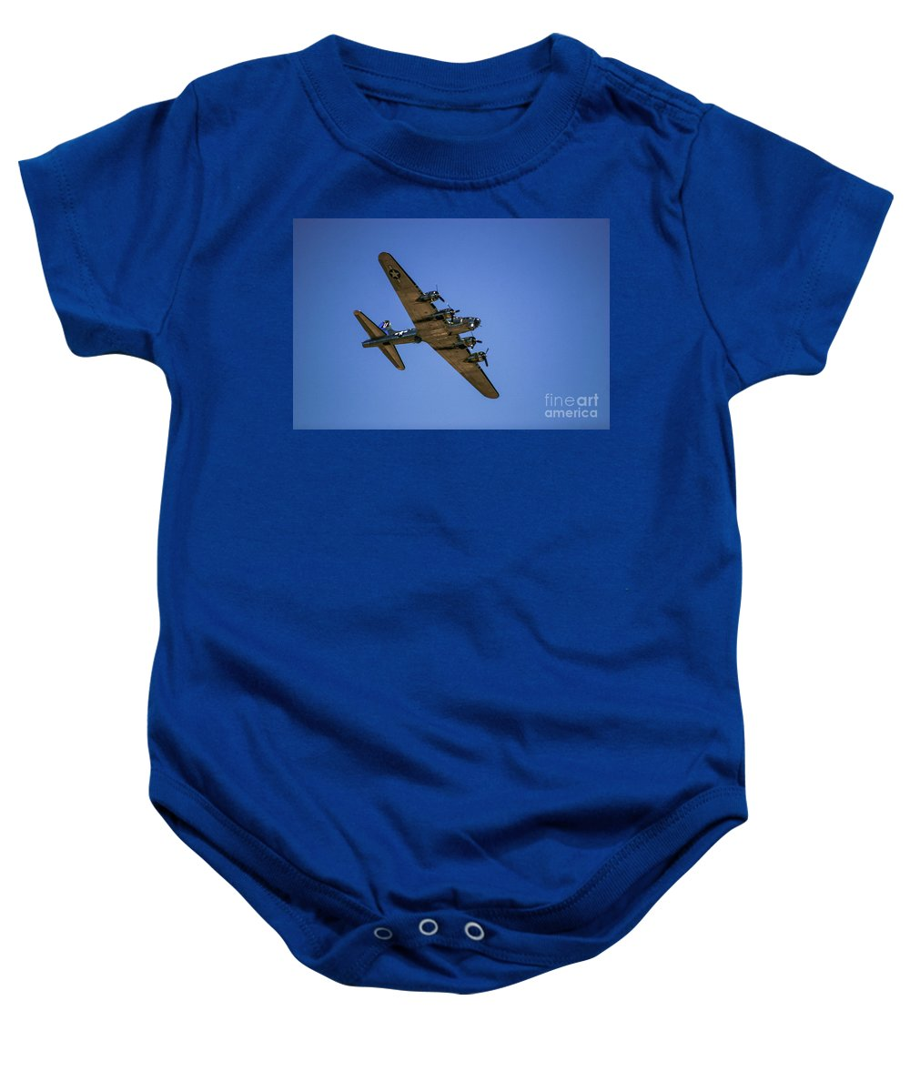 2 Baby Onesie featuring the photograph Sentimental Journey In Flight by Chandra Nyleen