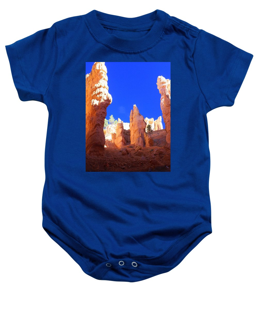 Bryce Canyon National Park Baby Onesie featuring the photograph Spires by Marty Koch
