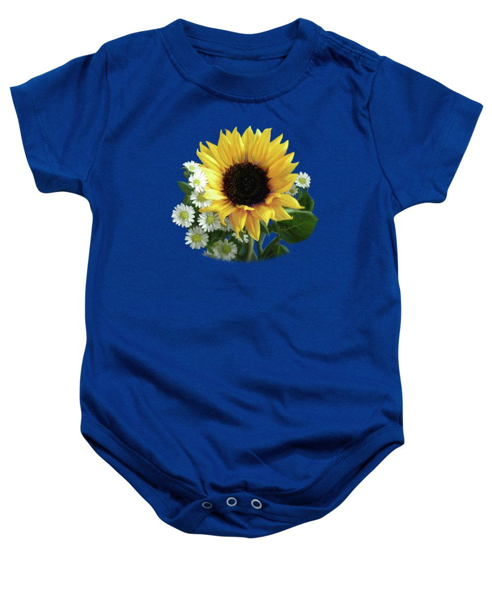 Sunflower Baby Onesies