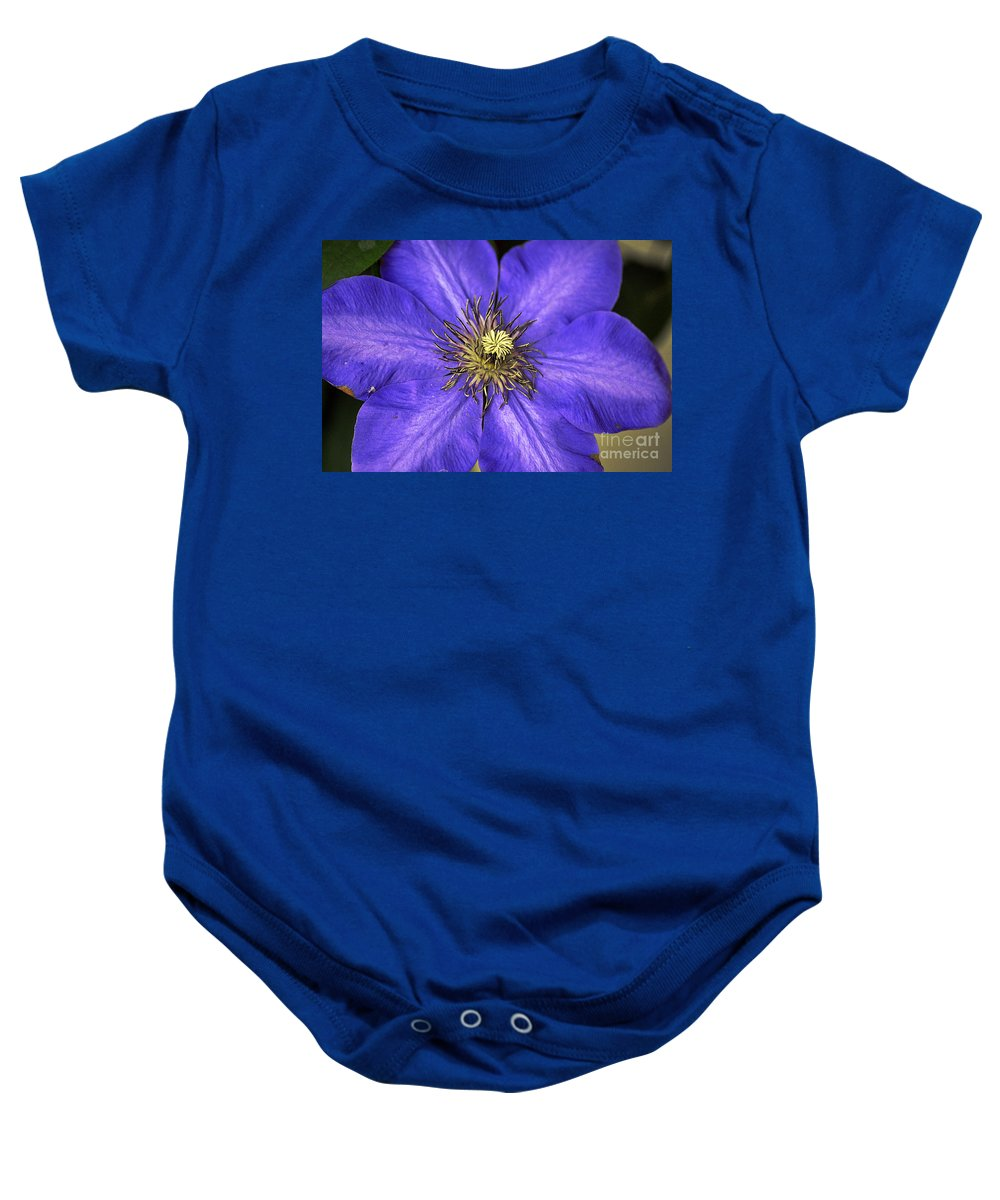 Clay Baby Onesie featuring the photograph Tenticles by Clayton Bruster