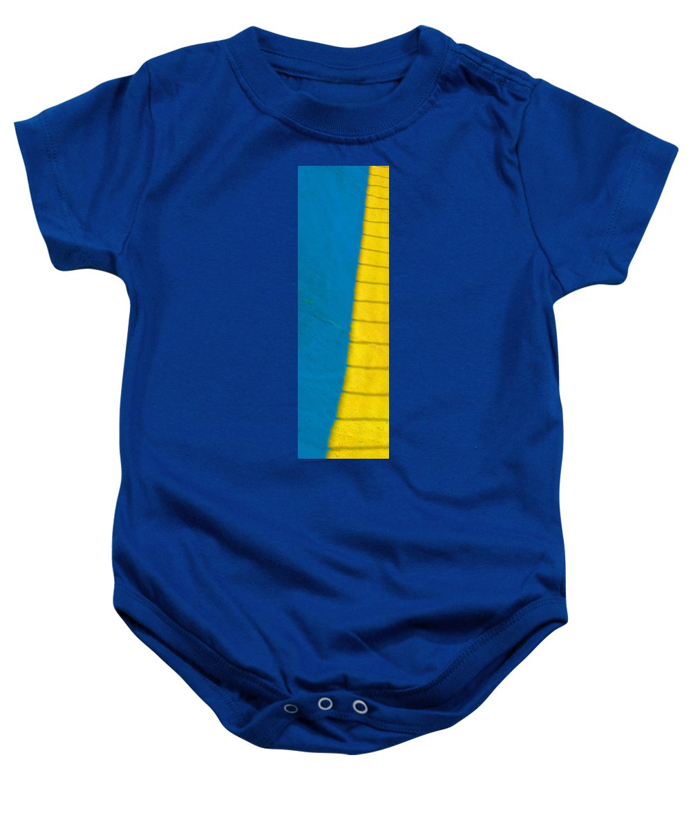Abstract Baby Onesie featuring the photograph The Climb by Josephine Buschman
