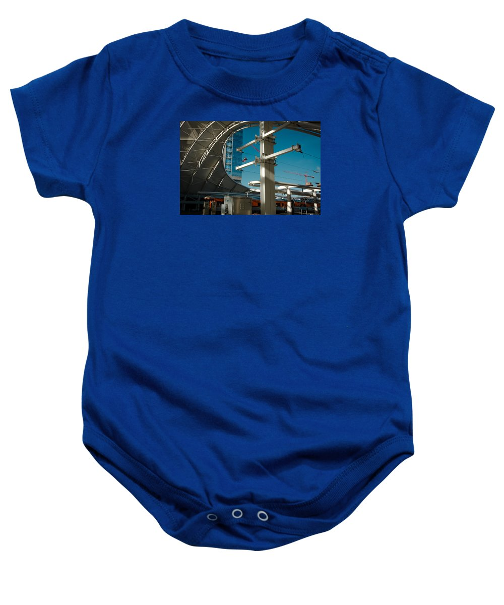 Colorado Photographs Baby Onesie featuring the photograph Transit Harbor by John Bartelt