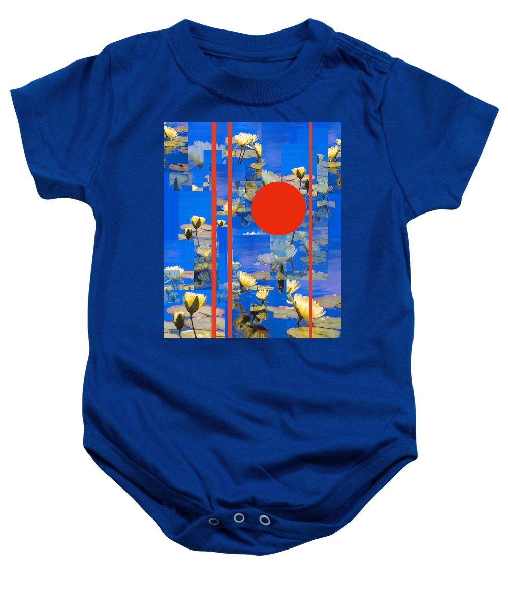 Flowers Baby Onesie featuring the photograph Vertical Horizon by Steve Karol