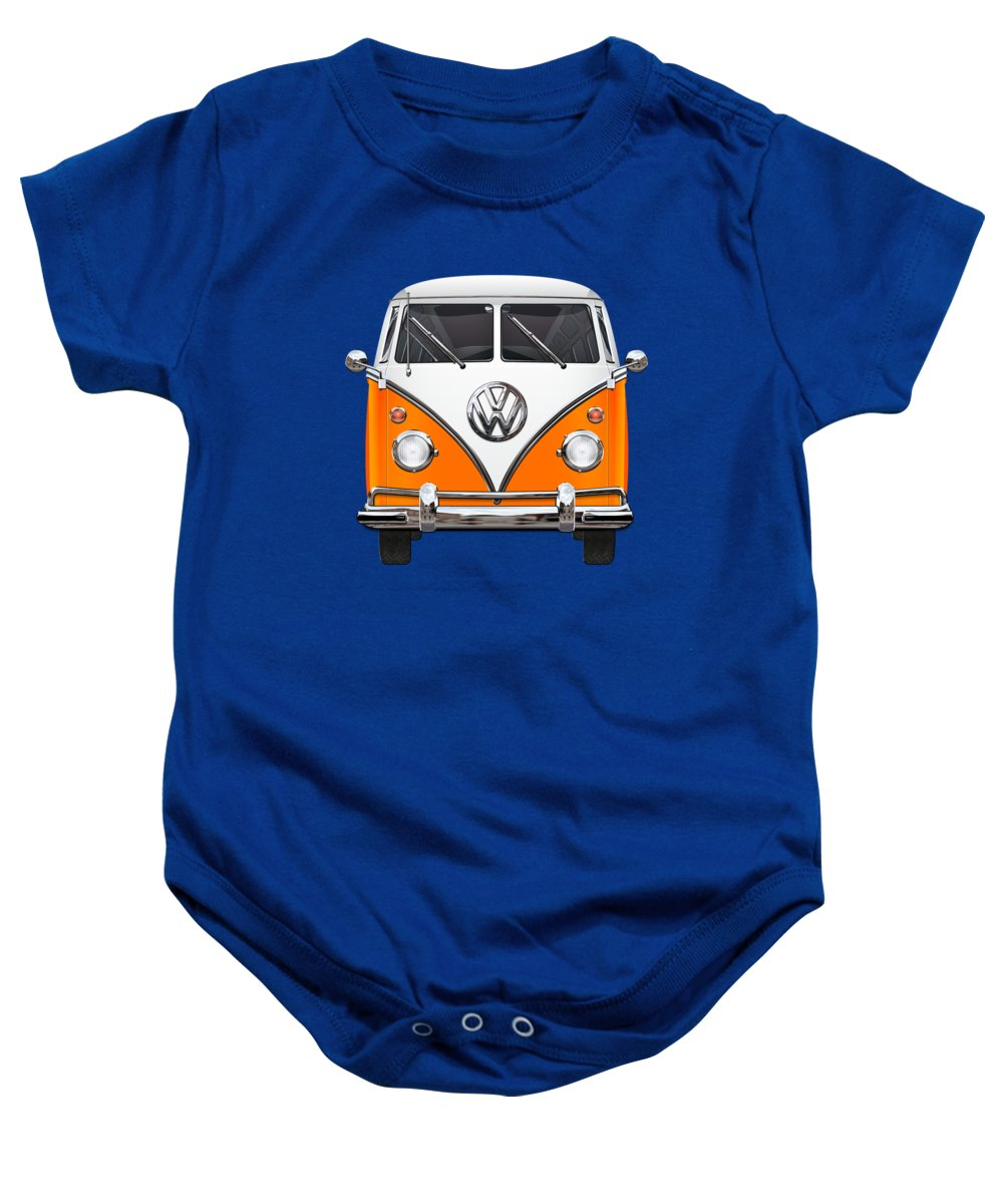 Vw Transporter Photographs Baby Onesies