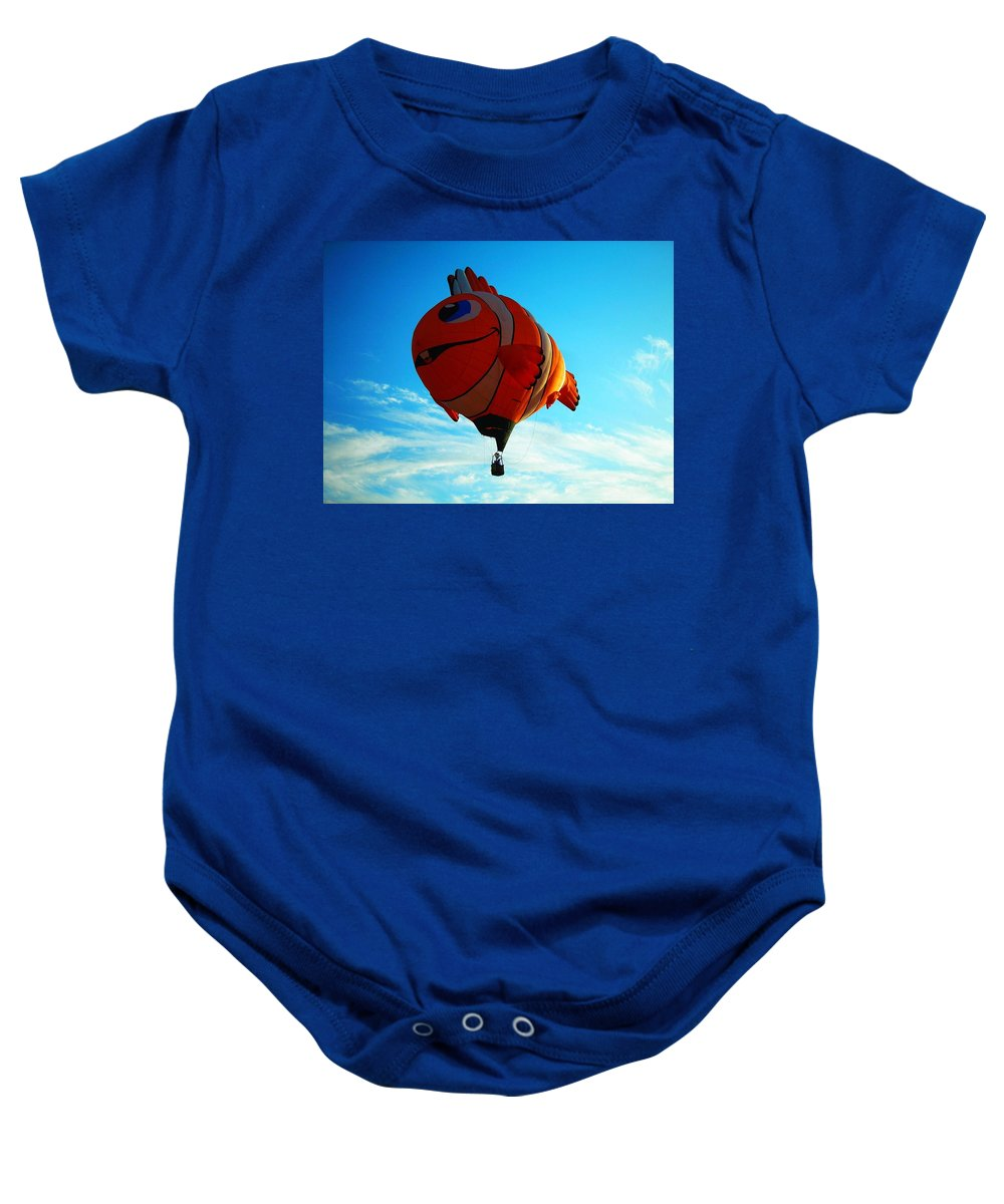 Hot Baby Onesie featuring the photograph Wally The Clownfish by Juergen Weiss
