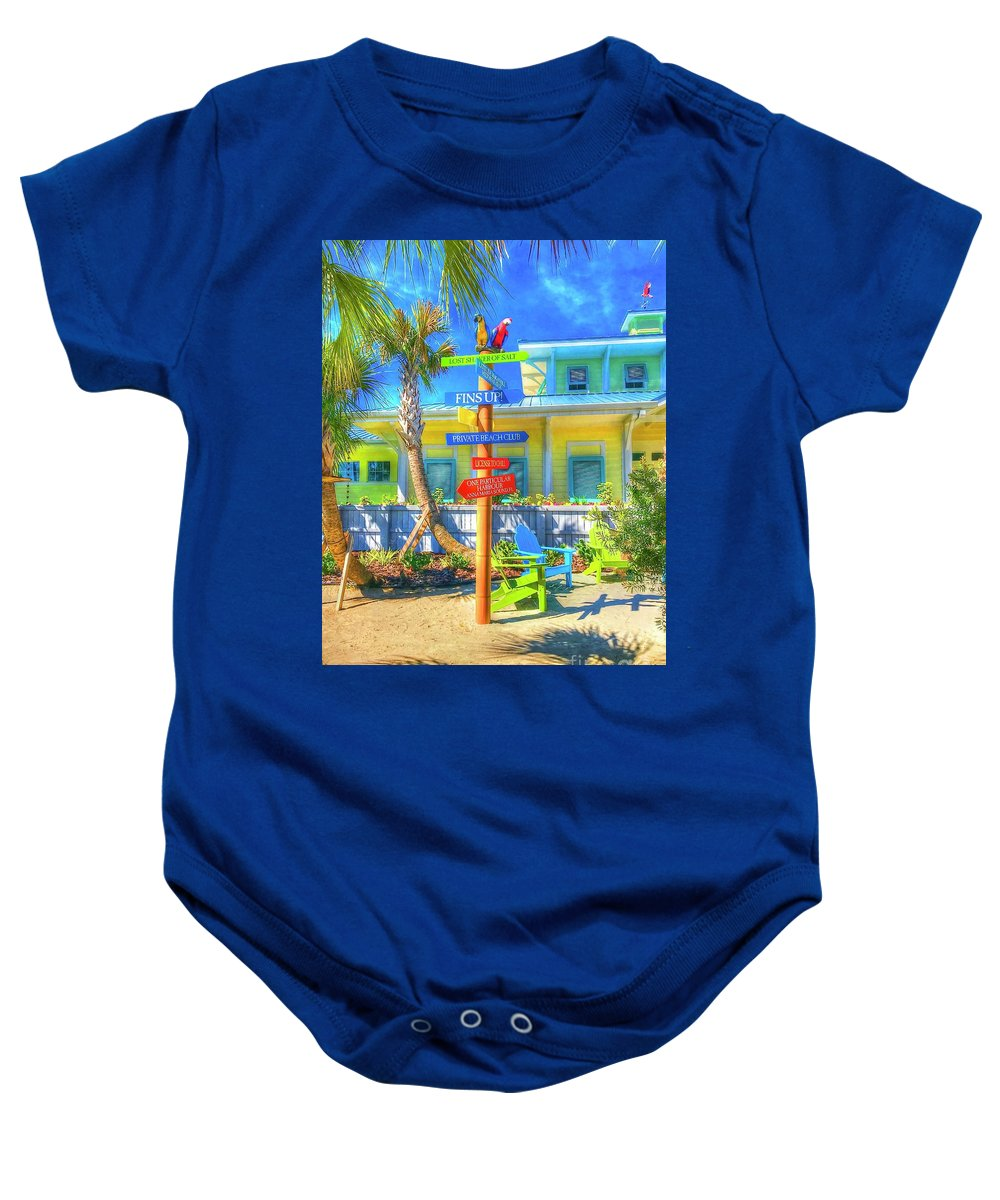 Beachy Baby Onesie featuring the photograph Wastin Away by Debbi Granruth