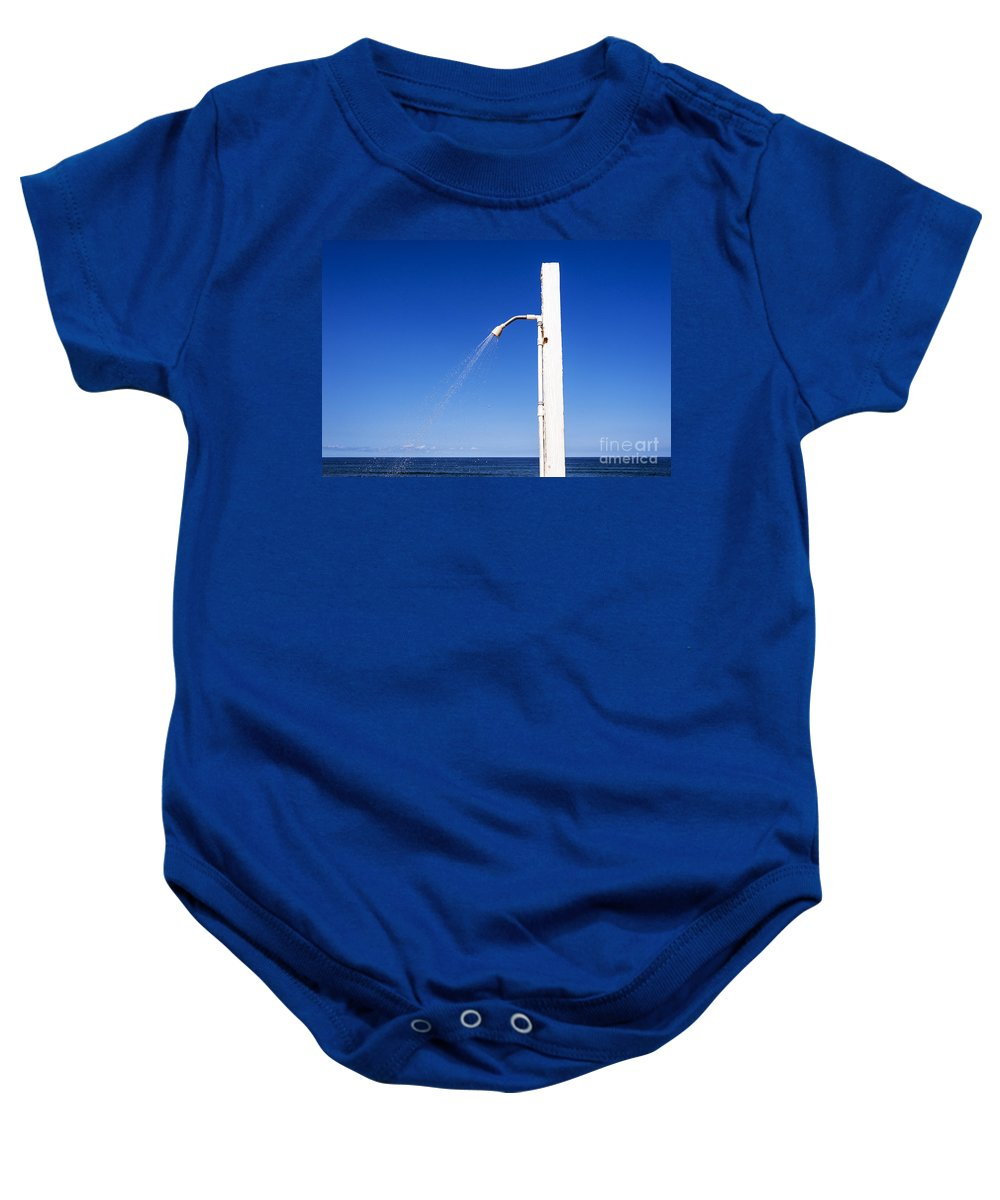Beach Baby Onesie featuring the photograph Water Conservation by John Greim