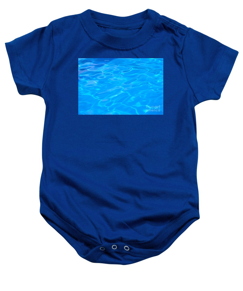 Beautiful Baby Onesie featuring the photograph Water Reflections by Mary Van de Ven - Printscapes