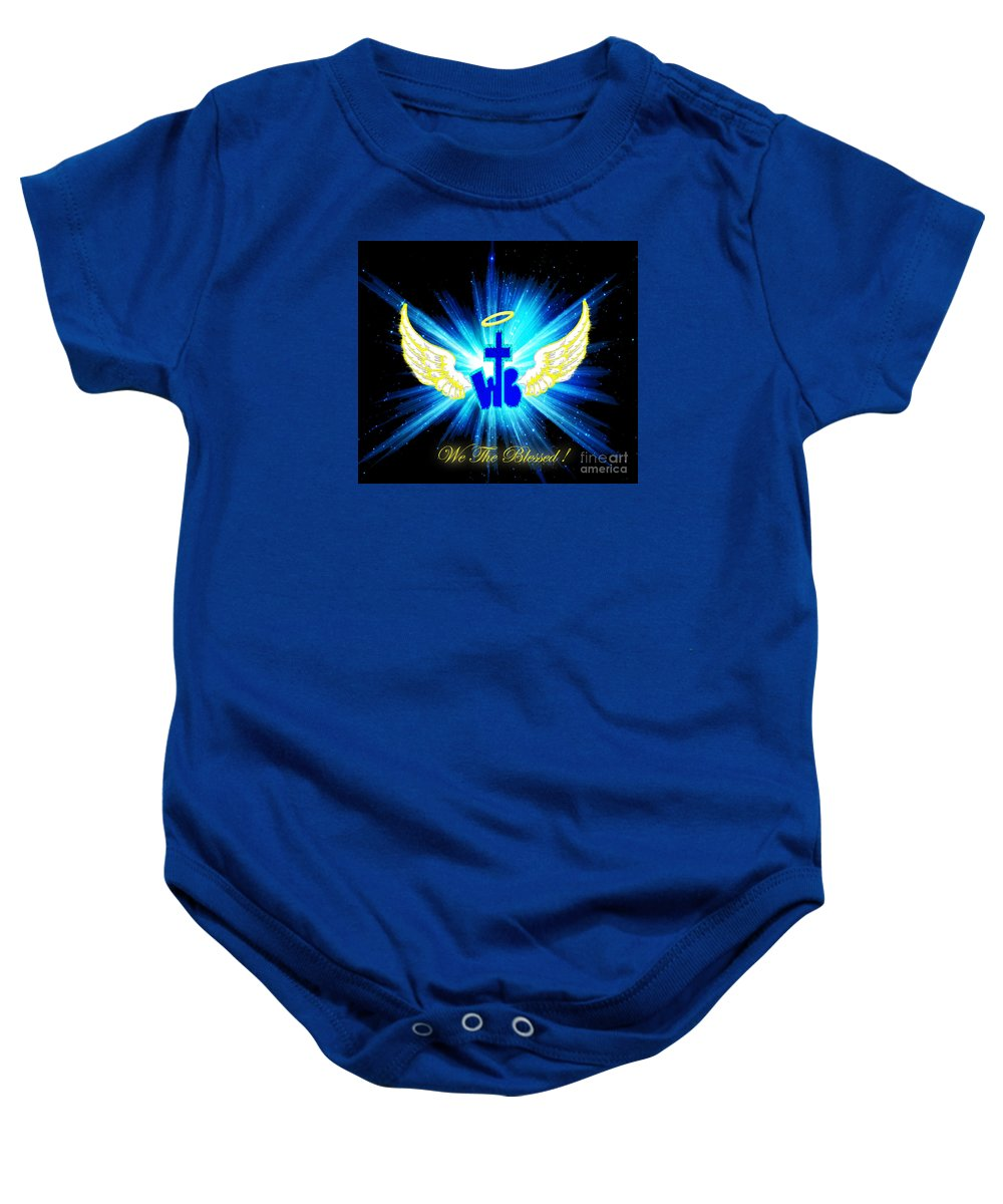 Photoshop. Baby Onesie featuring the photograph We The Blessed by Jean