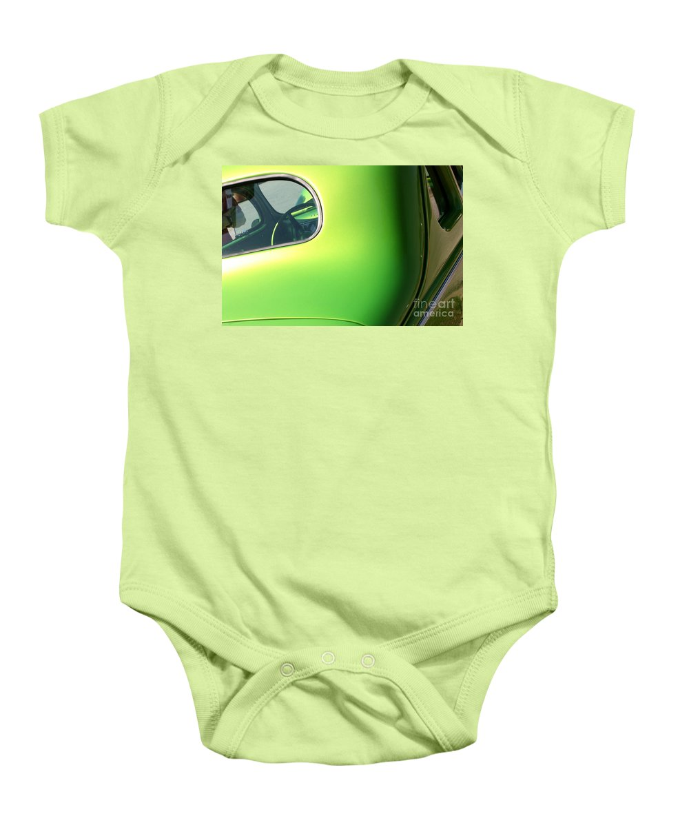 1940 Baby Onesie featuring the photograph 40 Ford - Rear Window-8547 by Gary Gingrich Galleries