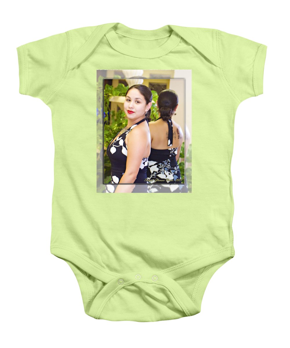 Girl Baby Onesie featuring the photograph Lovely Lady by Walter Herrit