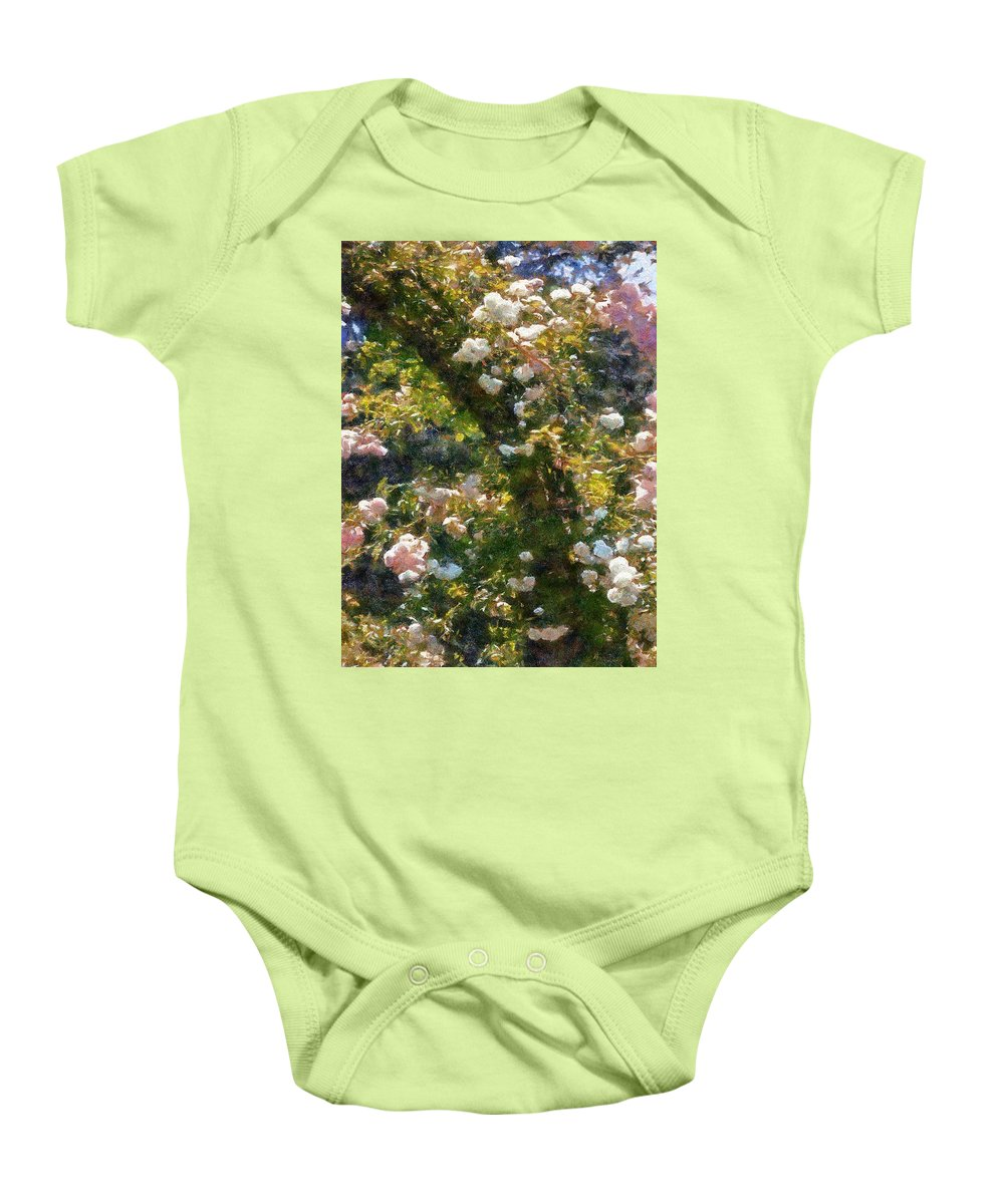 Arch Baby Onesie featuring the painting Archway Glorious by RC DeWinter