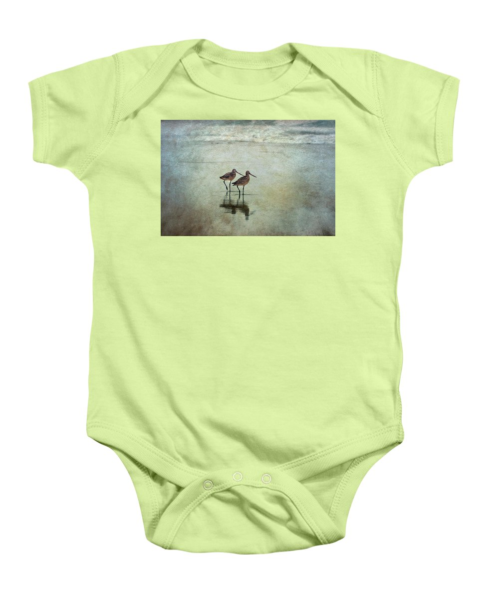 Bird Baby Onesie featuring the photograph At The End Of A Day by Maria Ismanah Schulze-Vorberg