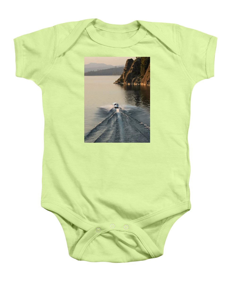 Aerial Baby Onesie featuring the photograph Hornet II Aerial by Steven Lapkin