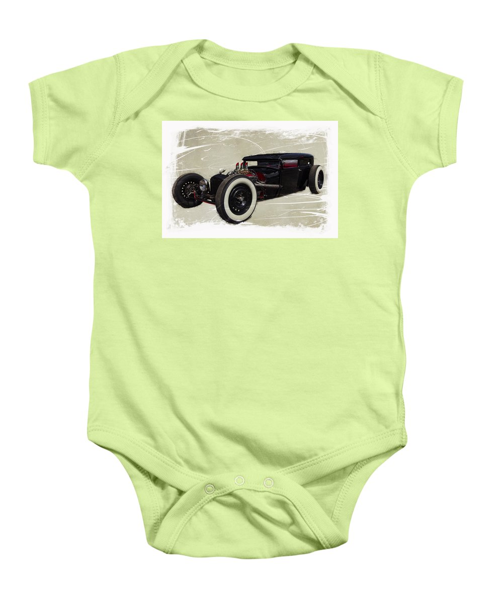Car Show Baby Onesie featuring the photograph Low Boy V2.0 by Jorge Perez - BlueBeardImagery
