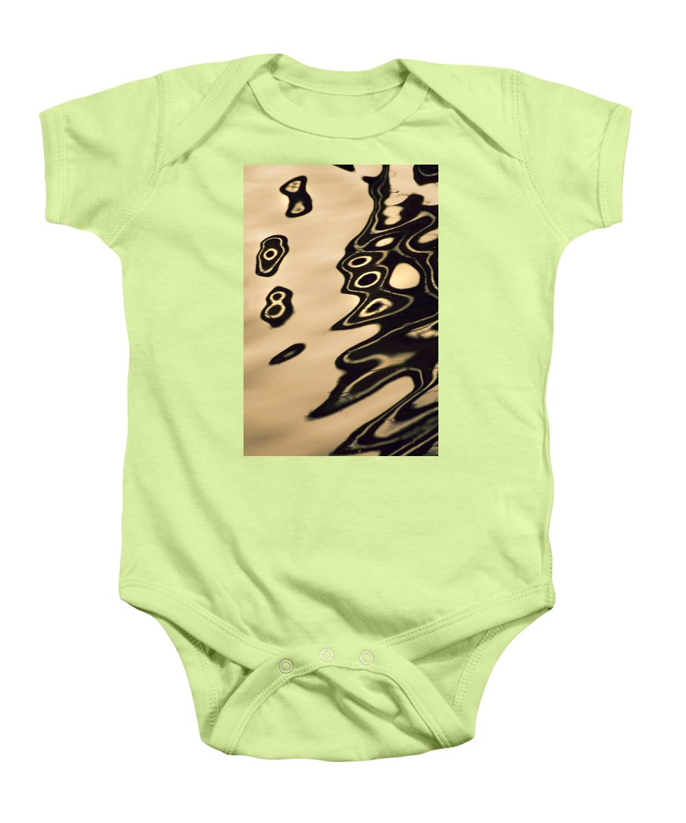 Reflection In Water Baby Onesie featuring the photograph Eight Something by Yulia Kazansky