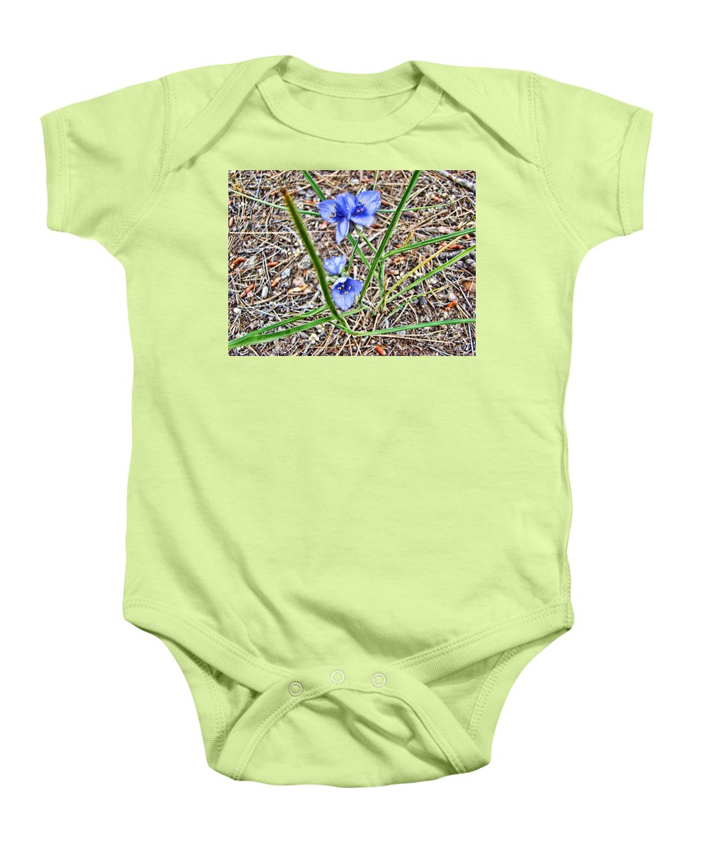 Baby Onesie featuring the photograph Spring Flowers 3 by Cathy Anderson