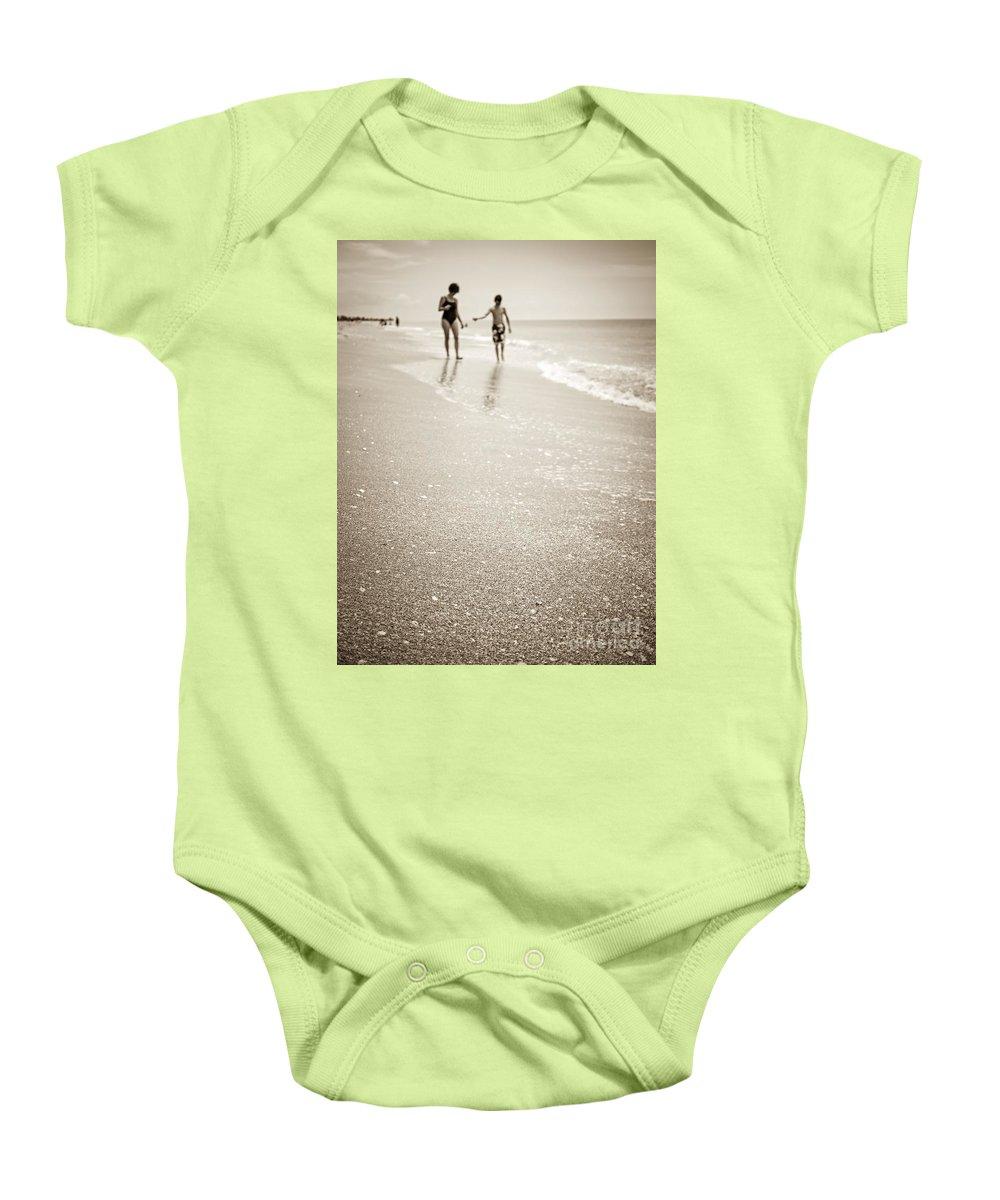 Beach Baby Onesie featuring the photograph Summer Memories by Edward Fielding