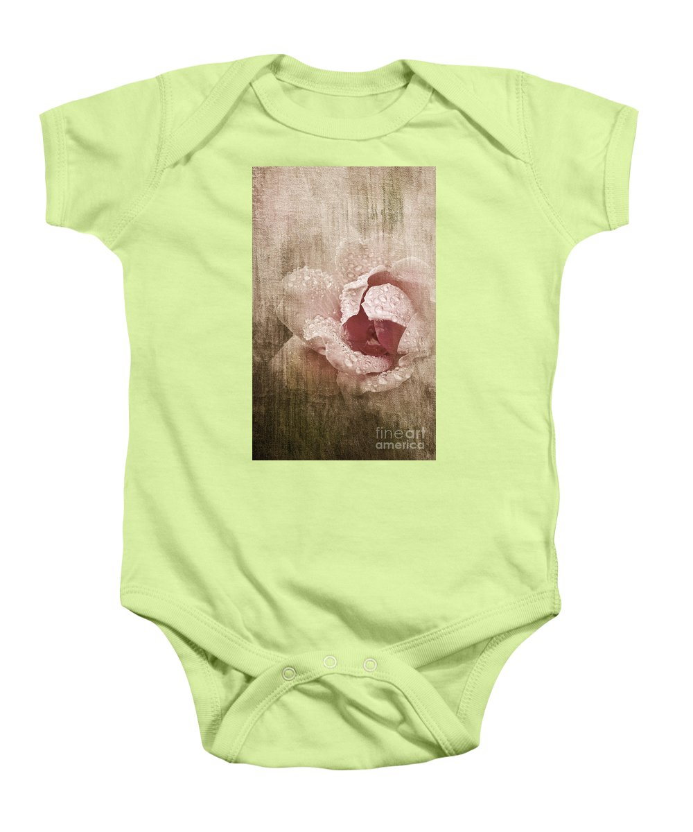 Rose Baby Onesie featuring the photograph Summer Rose #1 by Betty LaRue