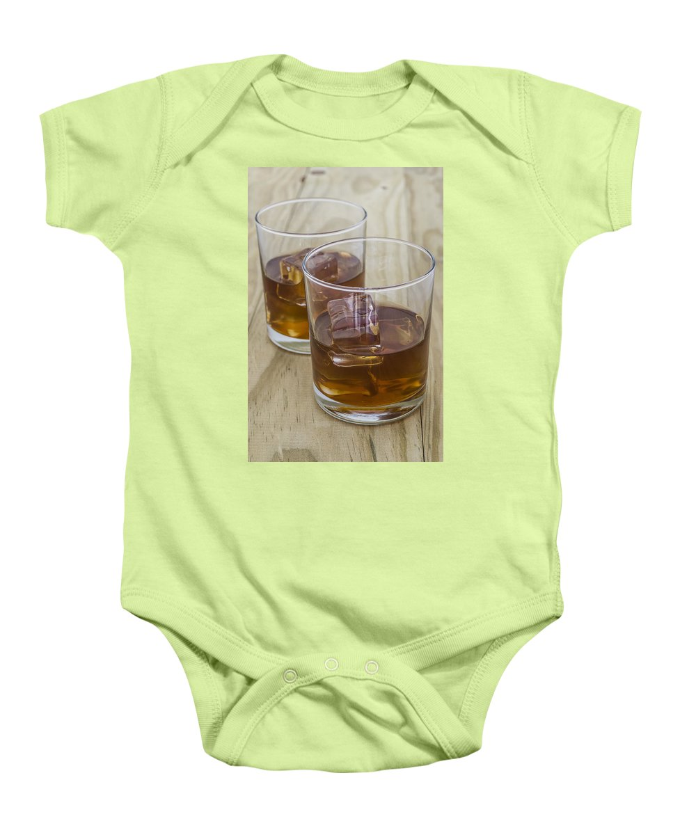 Glass Baby Onesie featuring the photograph Whiskey by Paulo Goncalves