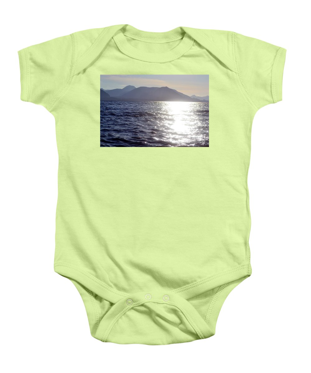 Ocean Baby Onesie featuring the photograph Peace by Traci Cottingham