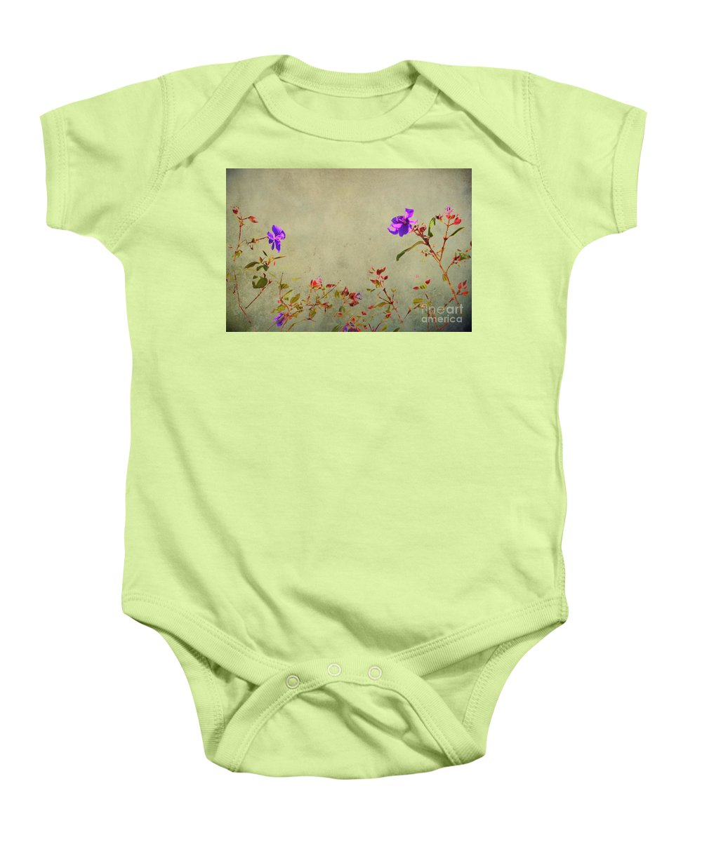 Aged Baby Onesie featuring the photograph Encore by Traci Cottingham