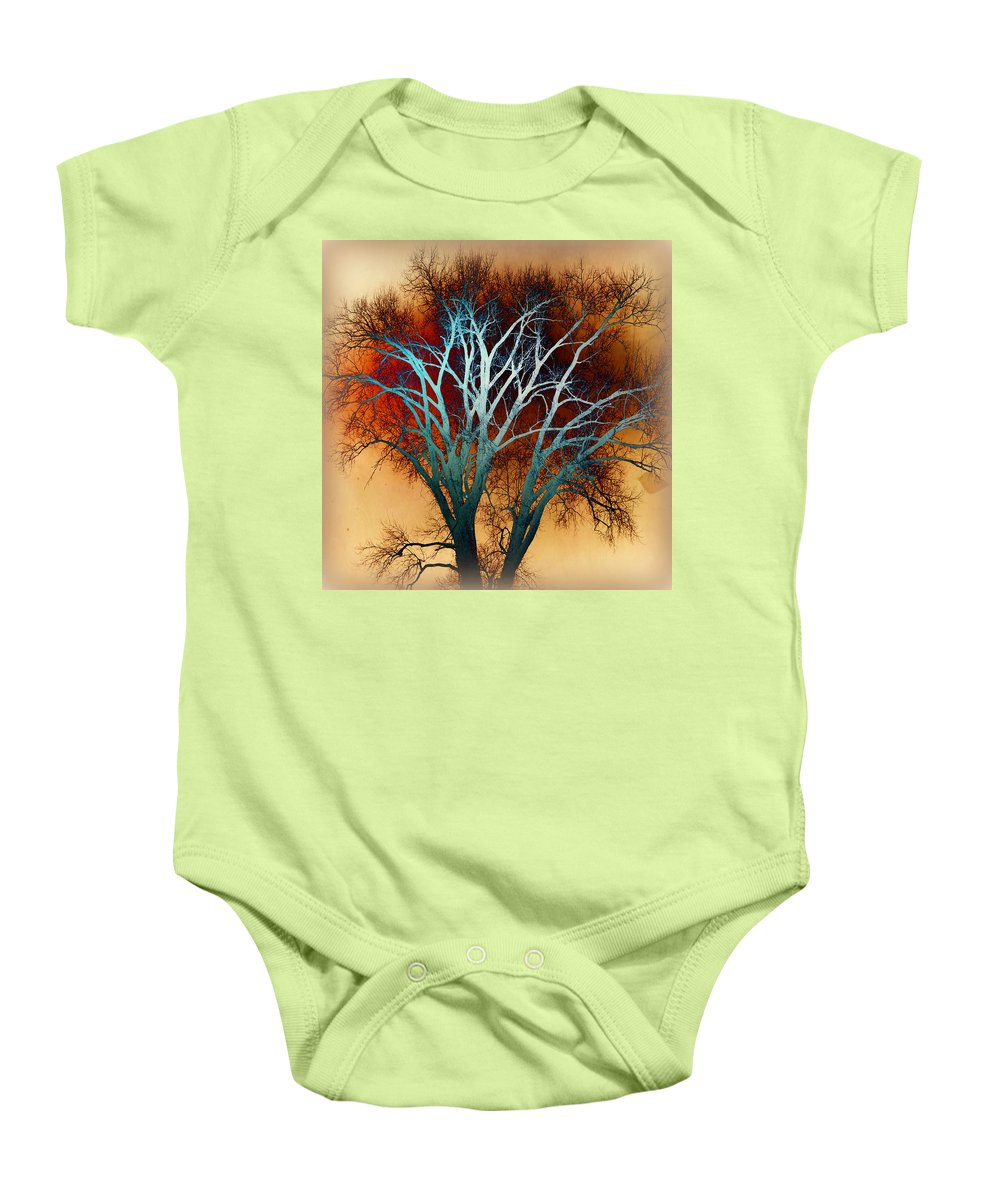 Tree Baby Onesie featuring the photograph Freaky Tree 1 by Marty Koch