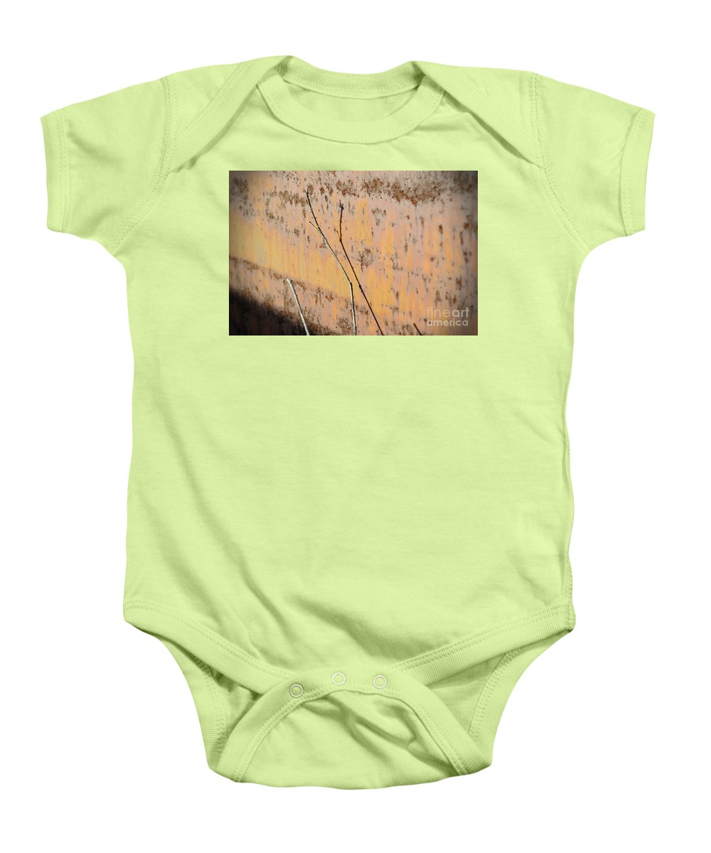 Rust Baby Onesie featuring the photograph Rustic Landscape by Luke Moore