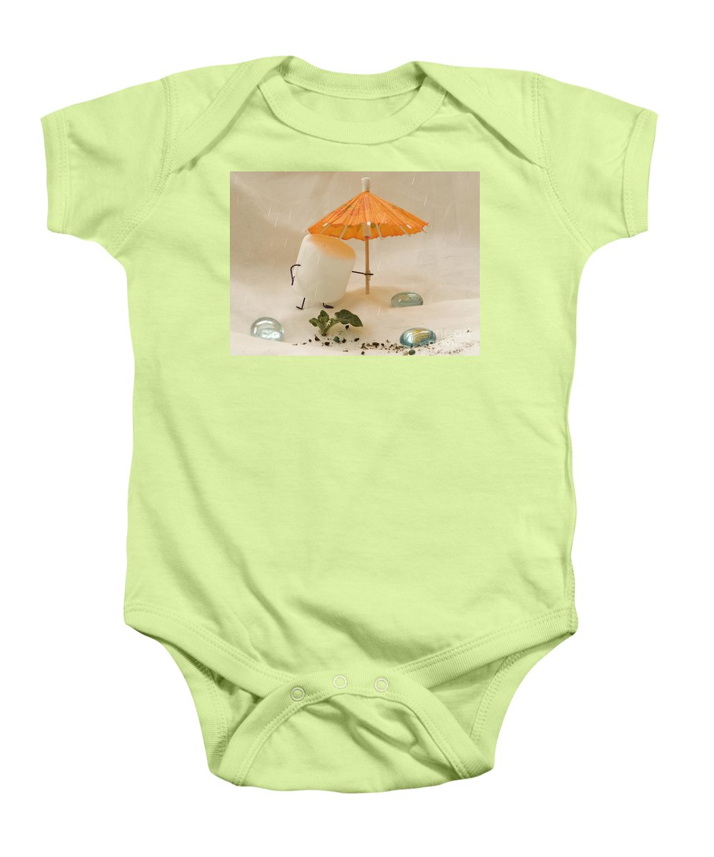 Spring Baby Onesie featuring the photograph Sweet Sprouts by Heather Applegate