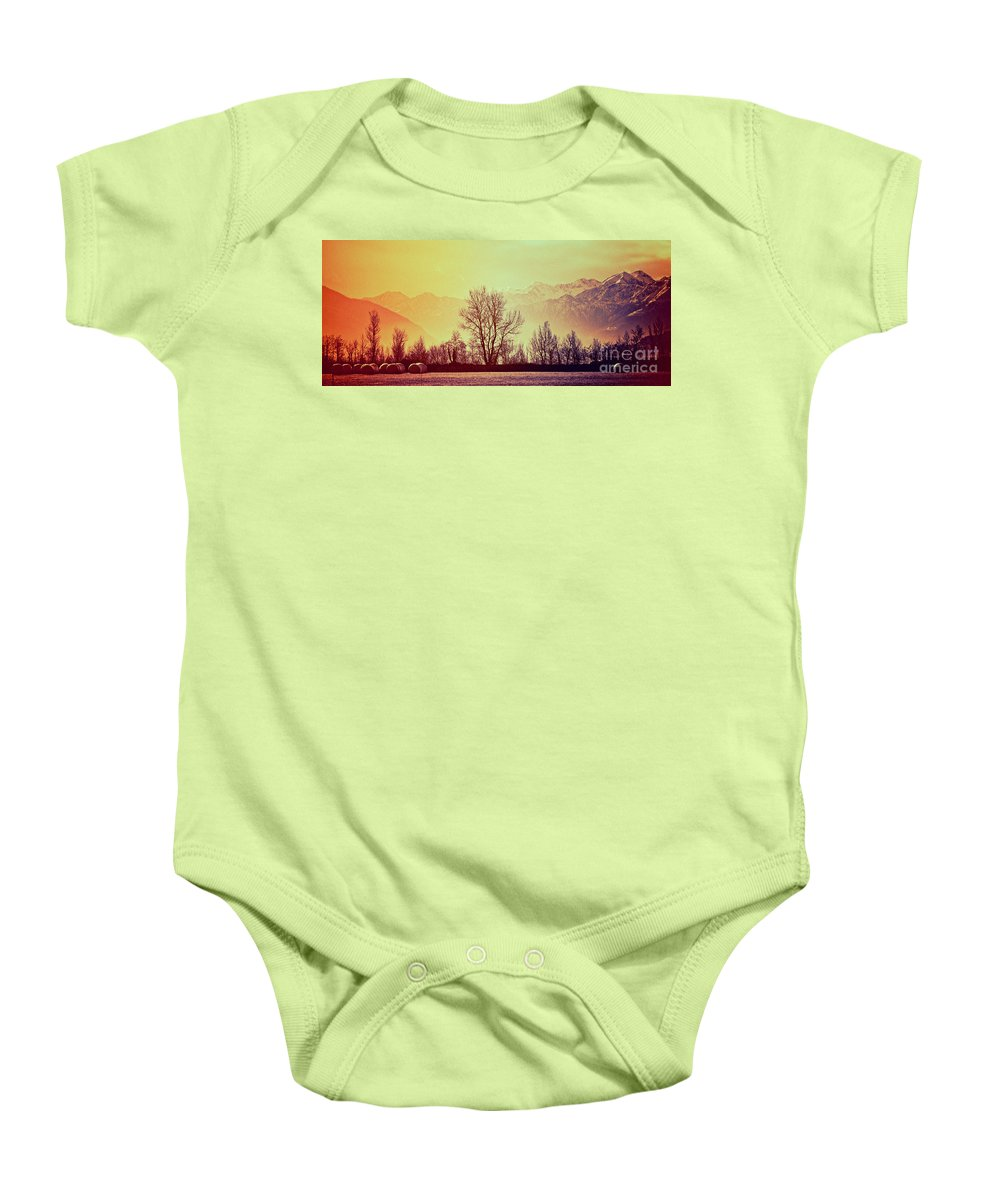 Winter Baby Onesie featuring the photograph Winter Mood by Silvia Ganora