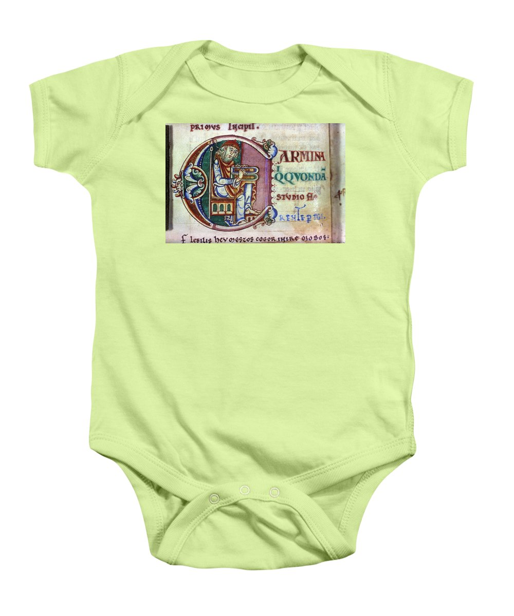 1150 Baby Onesie featuring the photograph Boethius (c480-524) by Granger