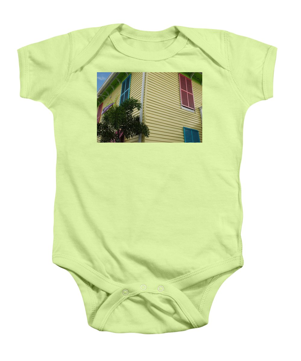 Architecture Baby Onesie featuring the photograph The Beach House by Rob Hans