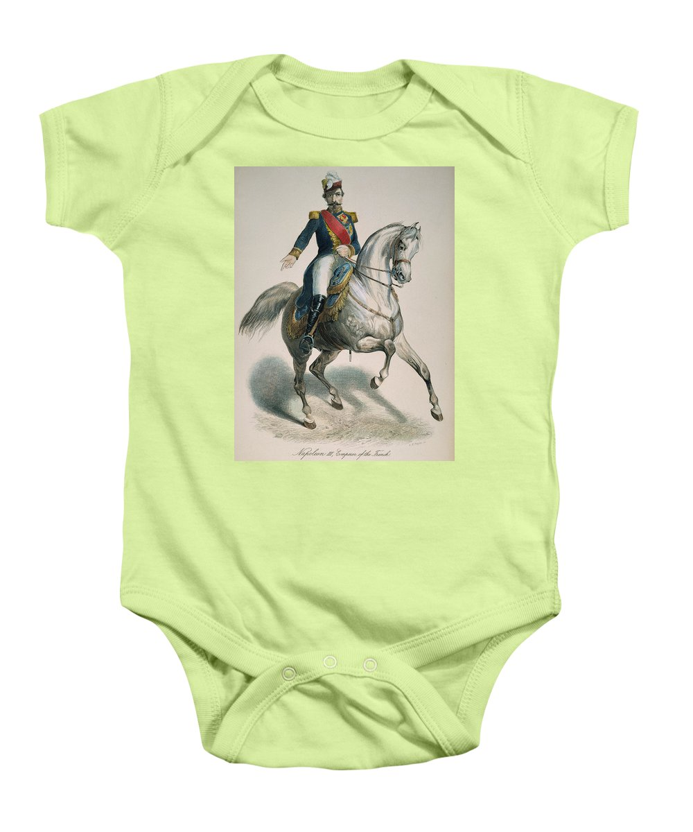 19th Century Baby Onesie featuring the photograph Napoleon IIi (1808-1873) by Granger