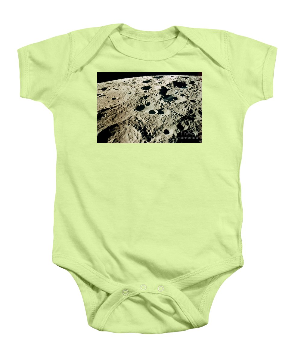 1971 Baby Onesie featuring the photograph Apollo 15: Moon, 1971 by Granger