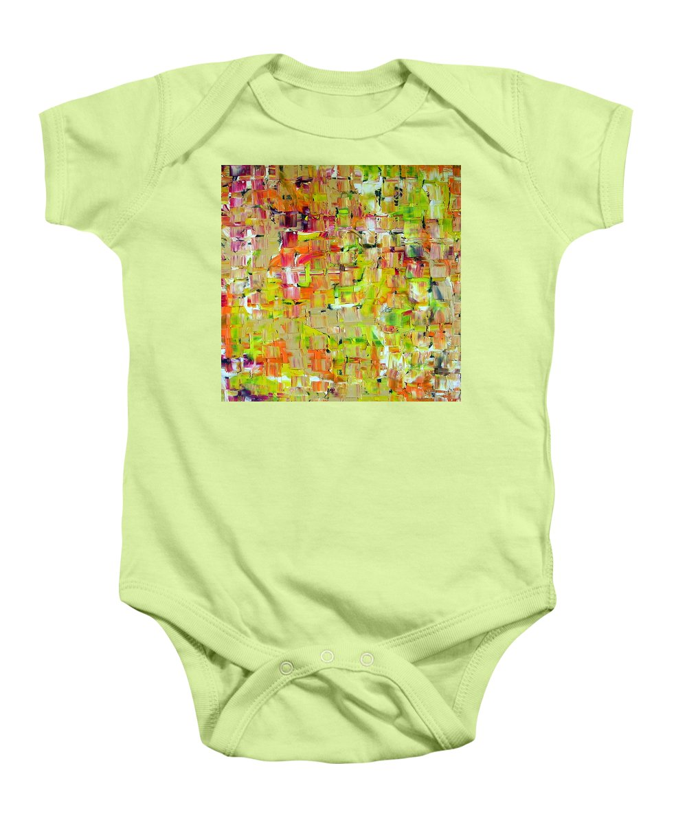 Banshee Baby Onesie featuring the painting Banshee by Dawn Hough Sebaugh