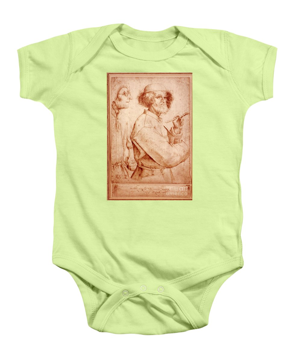 16th Century Baby Onesie featuring the photograph Bruegel: Painter, 1565 by Granger