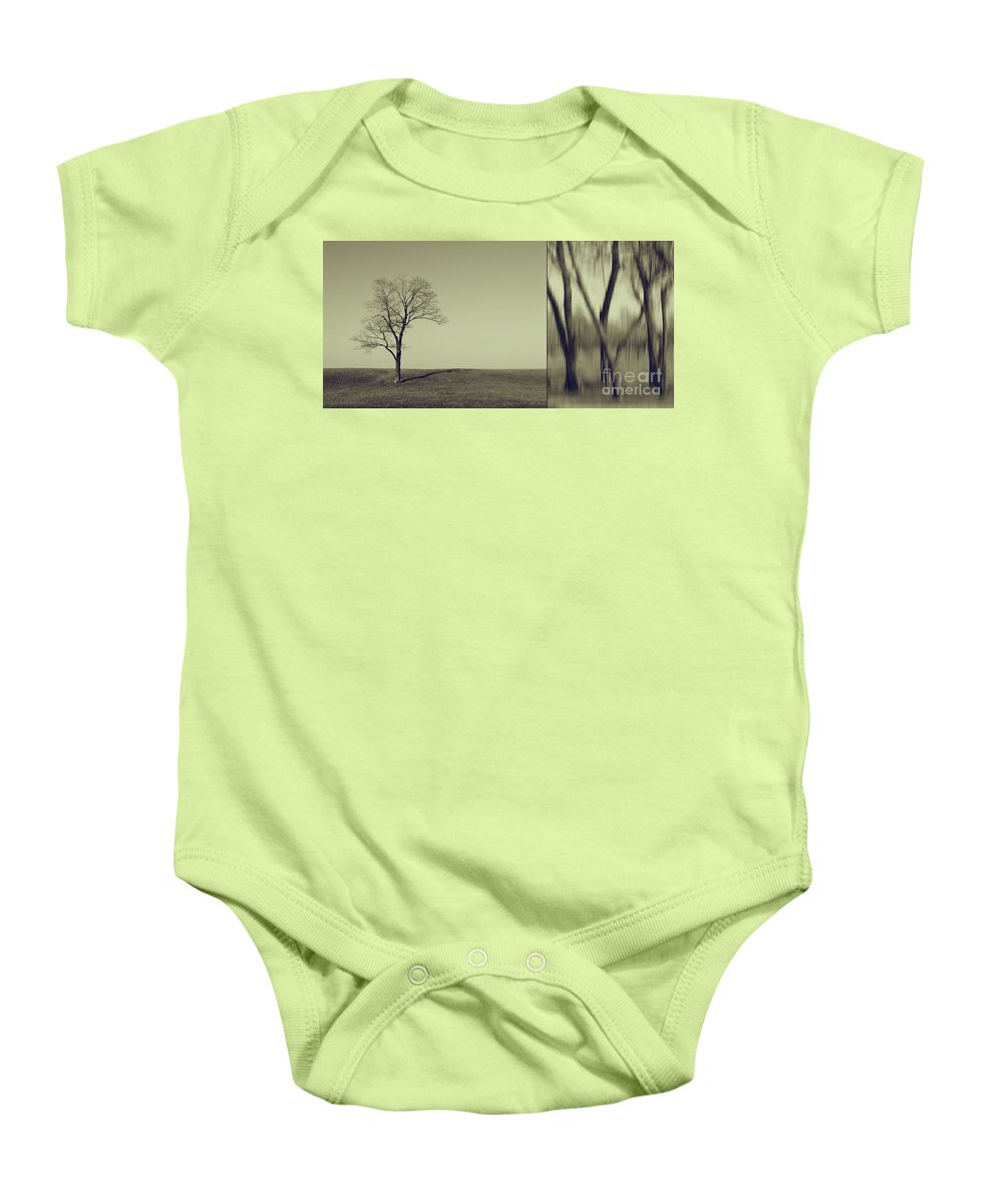 Chicago Baby Onesie featuring the photograph Can You Hear My Silent Words Whispering Along The Wind by Dana DiPasquale