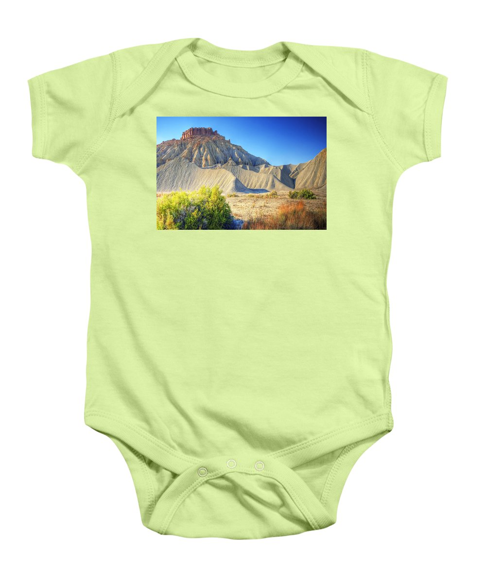 Utah Baby Onesie featuring the photograph Capitol Reef 1 by Ingrid Smith-Johnsen