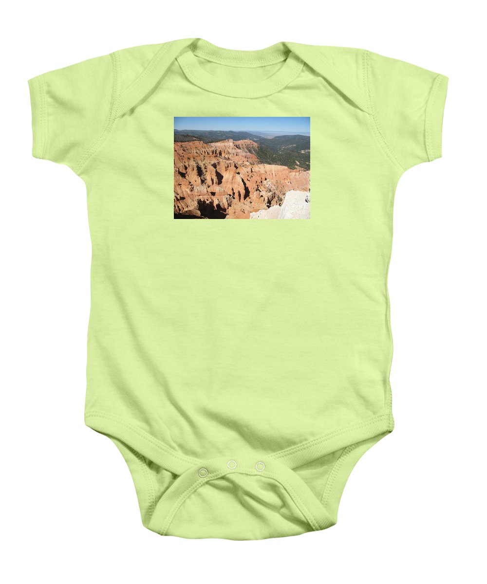Moutains Baby Onesie featuring the photograph Cedar Breaks I - Utah by Christiane Schulze Art And Photography