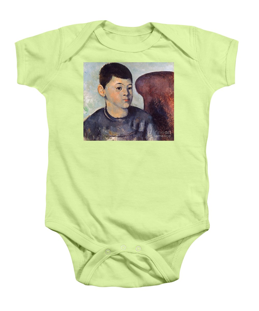 19th Century Baby Onesie featuring the photograph Cezanne: Portrait Of Son by Granger