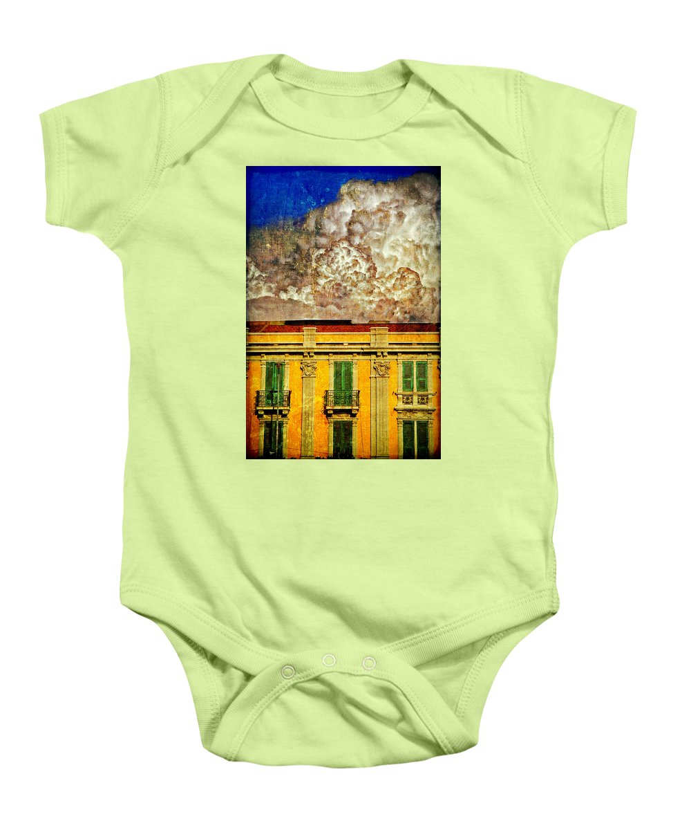Building Baby Onesie featuring the photograph Cloud Like Whipped Cream by Silvia Ganora