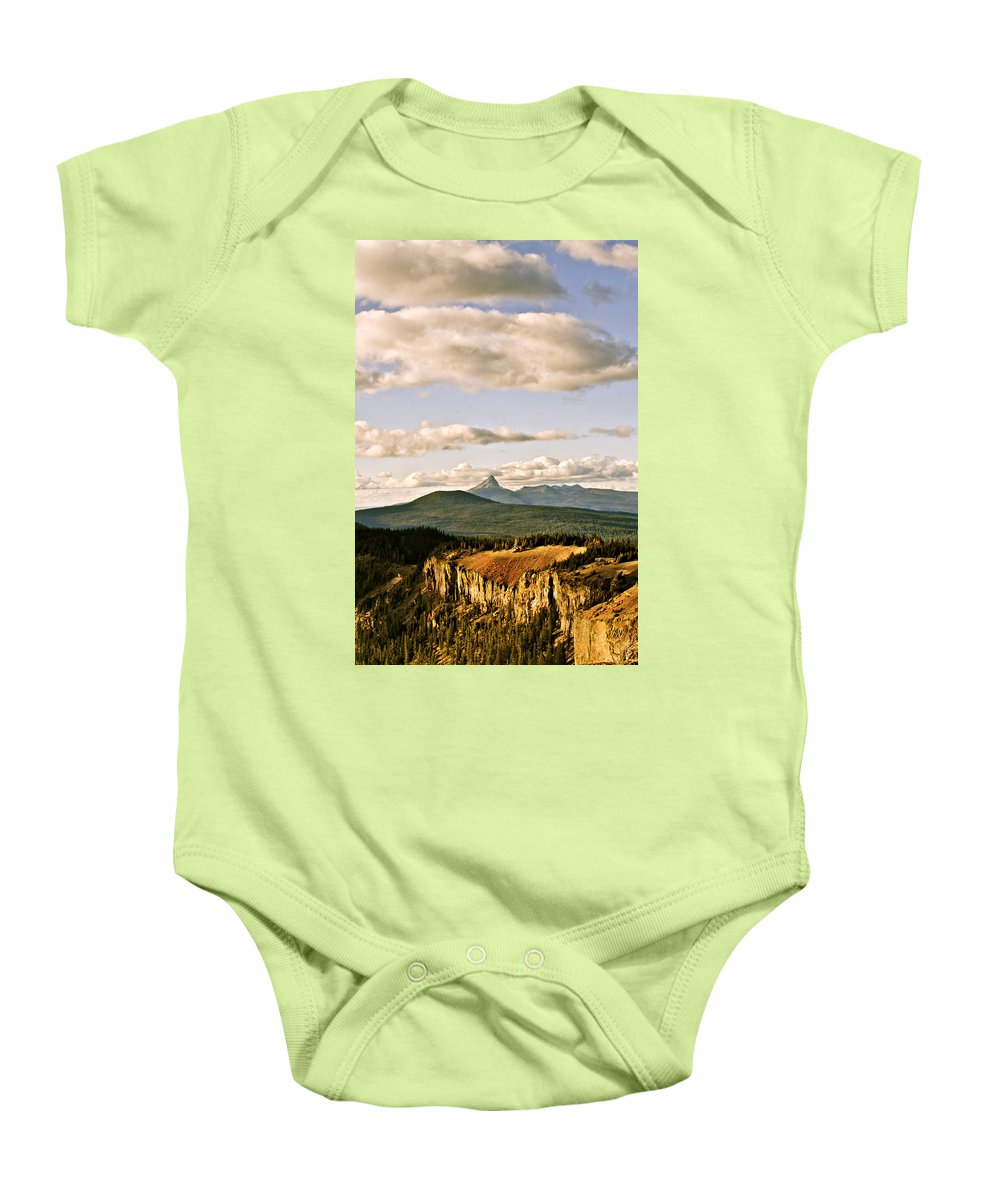 Crater Lake Baby Onesie featuring the photograph Crater Lake IIi by Albert Seger