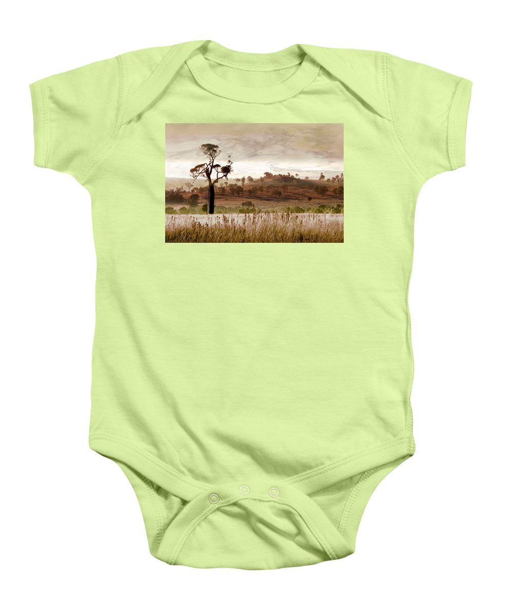 Landscapes Baby Onesie featuring the photograph Gondwana Boab by Holly Kempe