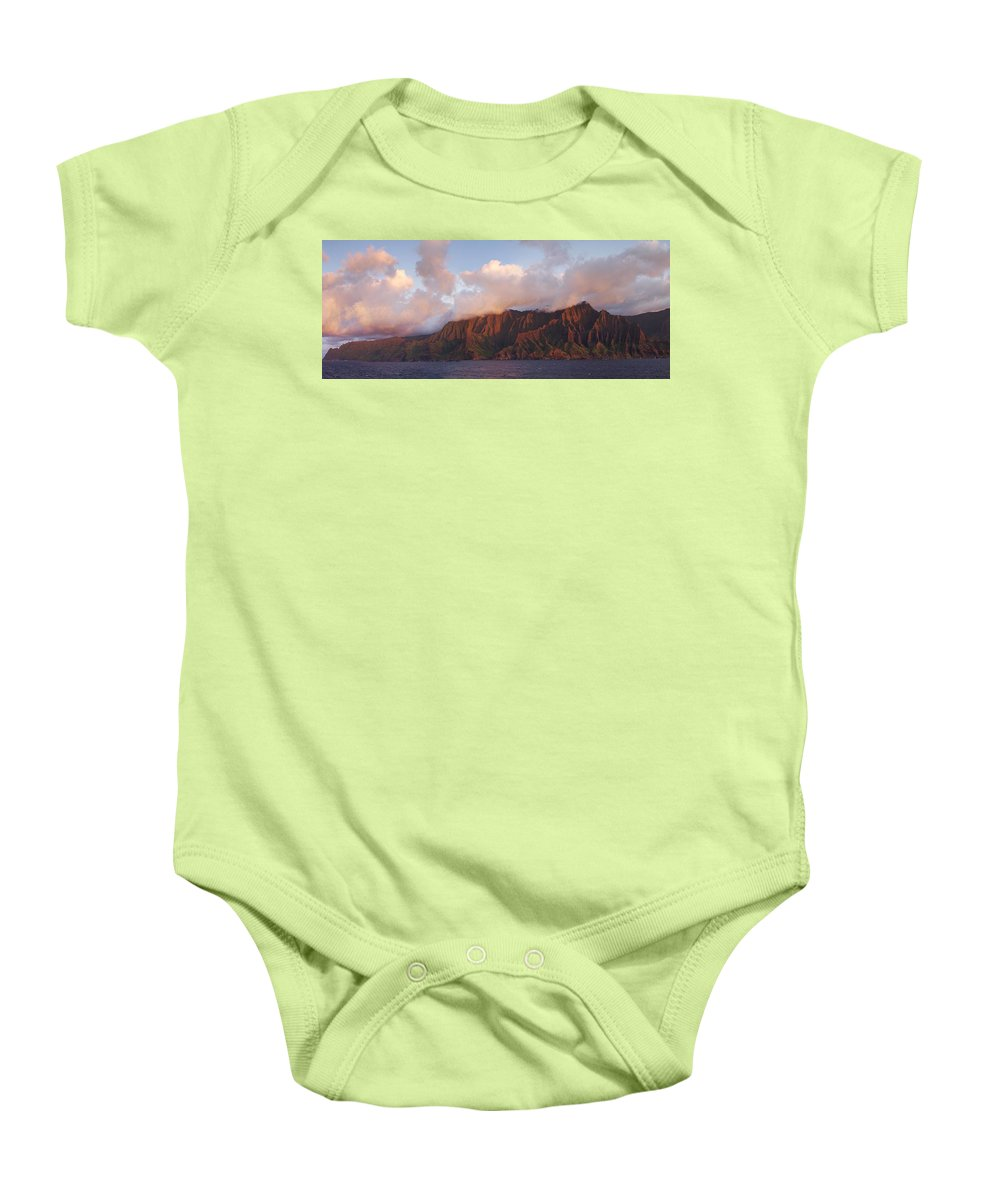 Hawaii Baby Onesie featuring the photograph Hawaii by Heather Coen