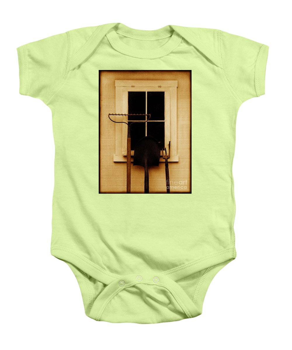 Tools Baby Onesie featuring the photograph Home Of The Free by Dana DiPasquale