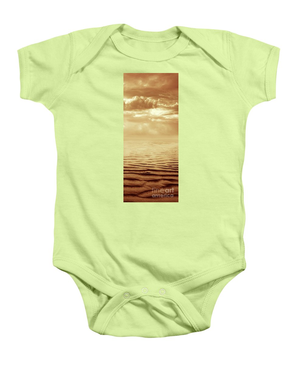 Dipasquale Baby Onesie featuring the photograph Illusion Never Changed Into Something Real by Dana DiPasquale
