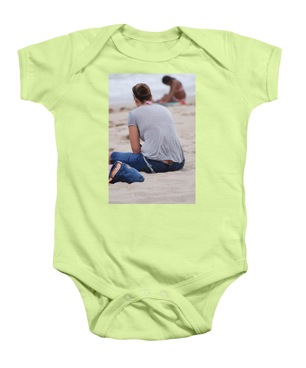 Girl Baby Onesie featuring the photograph Indiana Girl by Rob Hans
