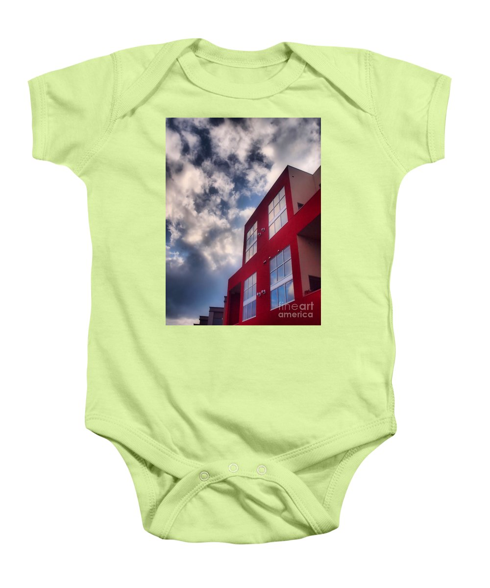 Building Baby Onesie featuring the photograph January 20 2010 by Tara Turner