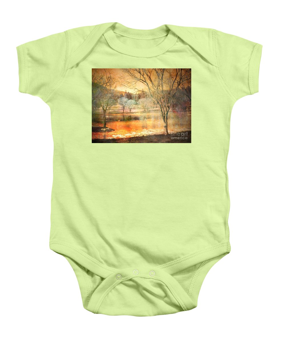 Trees Baby Onesie featuring the photograph Laughter Amongst Trees by Tara Turner